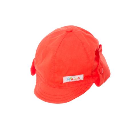 Кепка для мальчика. 167075167075Яркая кепка для малыша. Козырек мягкий. Сзади есть отворот на резинке и кнопках, чтобы защитить шею от солнца. Украшена аппликацией.