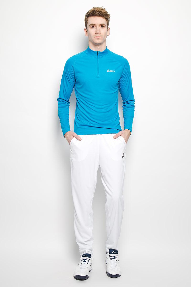 Брюки130241-0001Мужские брюки для тенниса Asics Club Woven Pant - лучший выбор для спортсменов с серьезным режимом тренировок. Технология Motion Dry способствует выводу влаги во время занятий спортом, обеспечивая, тем самым, превосходный уровень комфорта. Модель изготовлена из полиэстера. Брюки не сковывают свободу движений, а благодаря стильному дизайну, они прекрасно впишутся в городской интерьер. Эластичный пояс со шнурком-кулиской отвечает за идеальную посадку. Брюки снабжены двумя боковыми карманами и задним прорезным карманом на липучке. Разминка, игра - в этих эластичных, удобных и дышащих брюках от Asics вы сможете выполнить все!