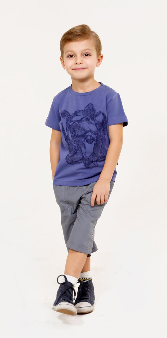 SS16-CFU-BTS-081Футболка для мальчика Gino de Luka идеально подойдет для юного модника. Изготовленная из эластичного хлопка, она очень мягкая и приятная на ощупь, не сковывает движения и позволяет коже дышать, обеспечивая наибольший комфорт. Футболка с круглым вырезом горловины и короткими рукавами украшена принтом с изображением носорога, а также надписями, содержащими название бренда. По плечевым швам модель оформлена контрастной прострочкой. Современный дизайн, отличное качество и расцветка делают эту футболку стильным и модным предметом детской одежды. В ней ребенок будет чувствовать себя уютно и комфортно, и всегда будет в центре внимания!