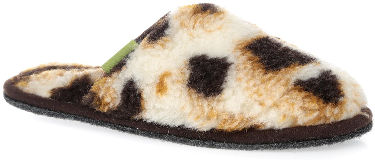 Тапки Гармония. 030302-0500.25.1/к030302-0500.25.1/кМягкие тапки Гармония от Holty выполнены из натуральной овечьей шерсти и текстиля. Содержащий в натуральной шерсти животный воск, взаимодействуя с кожей человека, благотворно влияет на мышцы и суставы. Уникальным свойством шерсти является способность поглощать влагу, свободно ее рассеивать, оставляя при этом ноги сухими. Тапки идеально подойдут для ношения в помещениях с любыми типами полов, для прогрева ног сухим теплом, защиты от воздействия холода и сквозняков, и снятия усталости. Подошва выполнена из нетканого ворсового полотна. Легкие и мягкие тапки подарят чувство уюта и комфорта. Длина стельки для размера 38: 21,5 см.