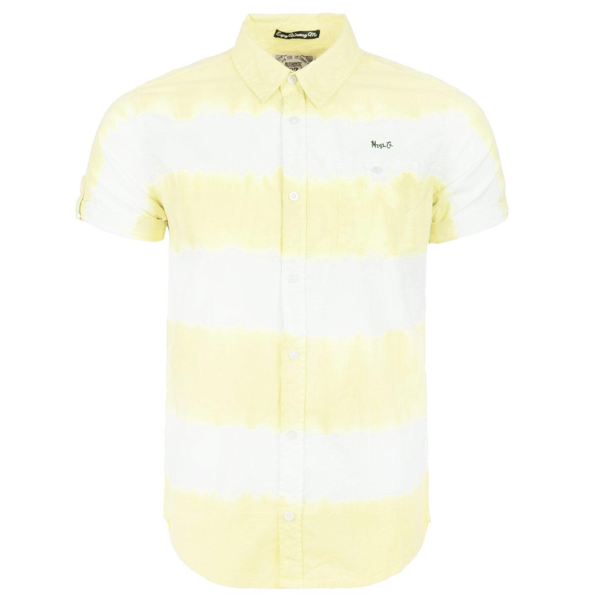 РубашкаCallme_POOLBLUEСтильная мужская рубашка MeZaGuZ, изготовлена из натурального хлопка, необычайно мягкая и приятная на ощупь, не сковывает движения и позволяет коже дышать, не раздражает даже самую нежную и чувствительную кожу, обеспечивая наибольший комфорт. Модель прямого кроя, с короткими рукавами, отложным воротником оформлена широкими полосками с размытыми краями. Низ изделия закруглен. На груди рубашка дополнена накладным карманом на пуговице. Рукава декорированы хлястиками на пуговицах. Такая модель порадует настоящих ценителей комфорта и практичности!