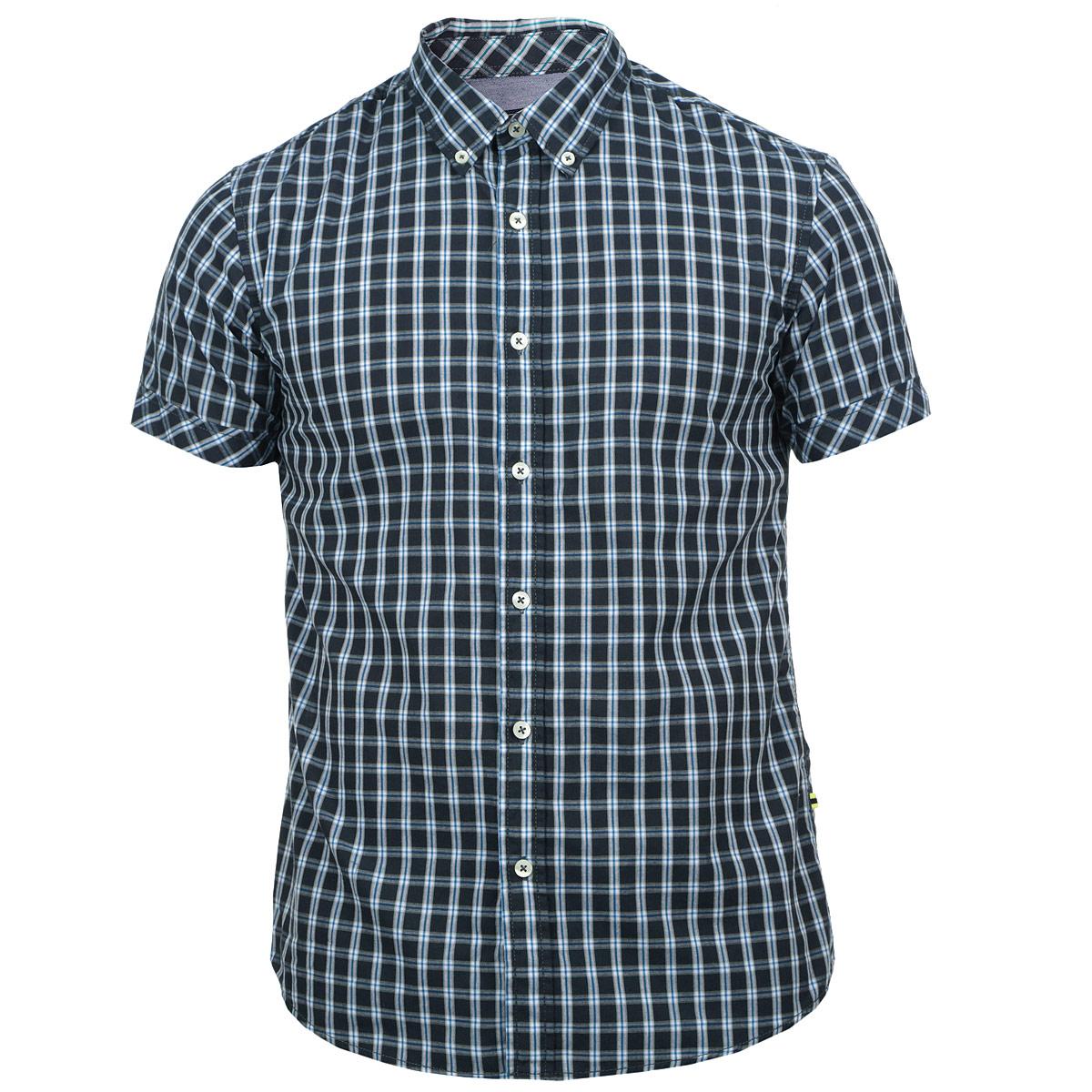 10152307 51FСтильная мужская рубашка Broadway, изготовленная из высококачественного материала, необычайно мягкая и приятная на ощупь, не сковывает движения и позволяет коже дышать, обеспечивая наибольший комфорт. Модная рубашка прямого кроя с короткими рукавами, отложным воротником и полукруглым низом. Застегивается изделие на пуговицы. Эта рубашка идеальный вариант для повседневного гардероба. Такая модель порадует настоящих ценителей комфорта и практичности!
