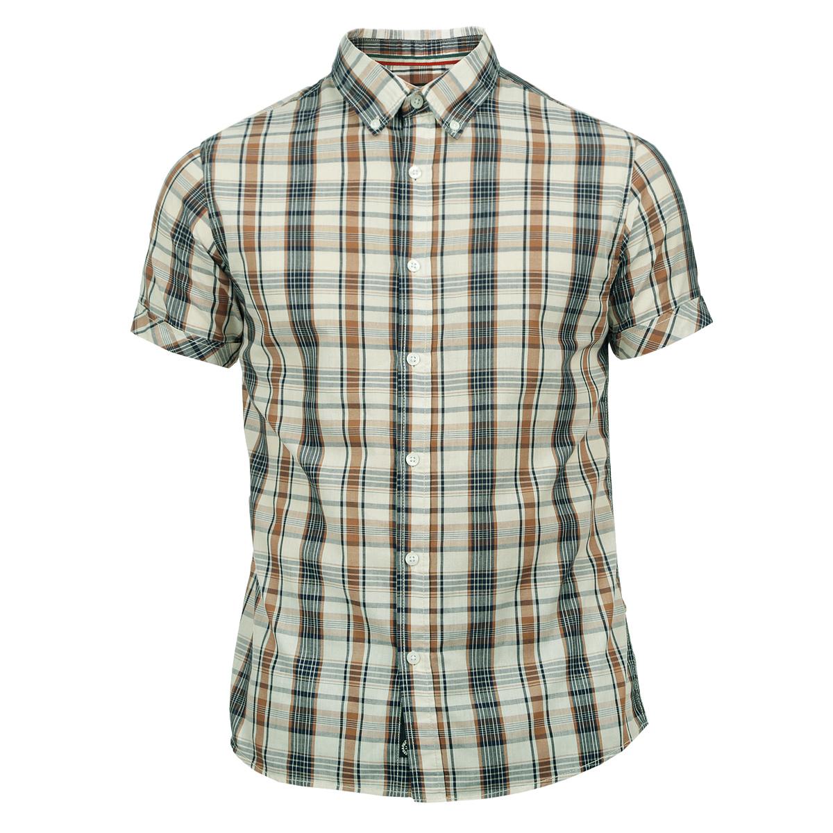 10152556 02BСтильная мужская рубашка Broadway, изготовленная из высококачественного материала, необычайно мягкая и приятная на ощупь, не сковывает движения и позволяет коже дышать, обеспечивая наибольший комфорт. Модная рубашка прямого кроя с короткими рукавами, отложным воротником и полукруглым низом. Застегивается изделие на пуговицы. Эта рубашка идеальный вариант для повседневного гардероба. Такая модель порадует настоящих ценителей комфорта и практичности!