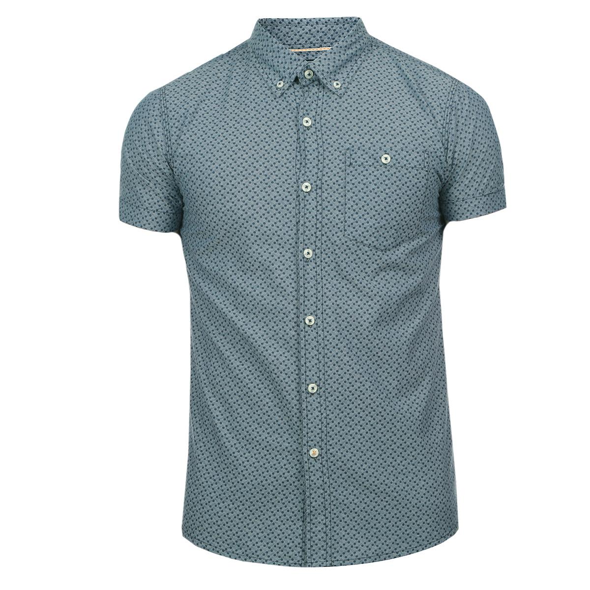 10152312 57BОтличная мужская рубашка Broadway с принтом, выполненная из хлопка, обладает высокой теплопроводностью, воздухопроницаемостью и гигроскопичностью, позволяет коже дышать, тем самым обеспечивая наибольший комфорт при носке даже самым жарким летом. Рубашка приталенного кроя с короткими рукавами, полукруглым низом, отложным воротником застегивается на пуговицы. Рубашка дополнена на груди накладным карманом на пуговице. Такая рубашка будет дарить вам комфорт в течение всего дня и послужит замечательным дополнением к вашему летнему гардеробу.