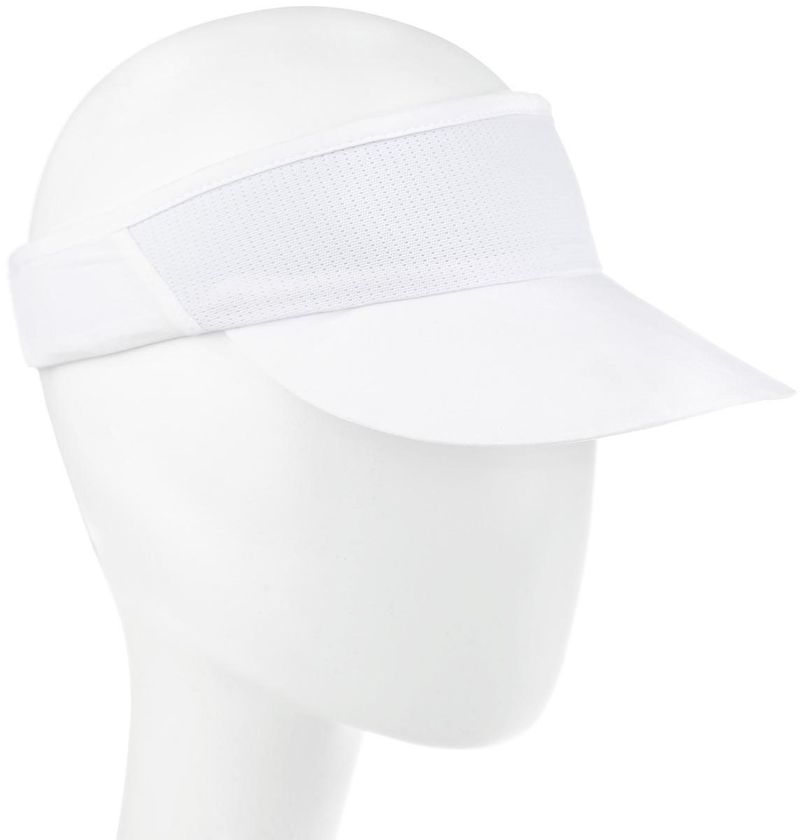 Бейсболка132060-0001Стильный козырек Asics, выполненный в спортивном стиле, не только защитит вас от прохладного ветра, но и убережет ваши глаза от лучей солнца. Козырек на фронтальной части оформлен светоотражающим логотипом Asics. Он идеально подходит для спортивных занятий или активного отдыха на открытом воздухе.