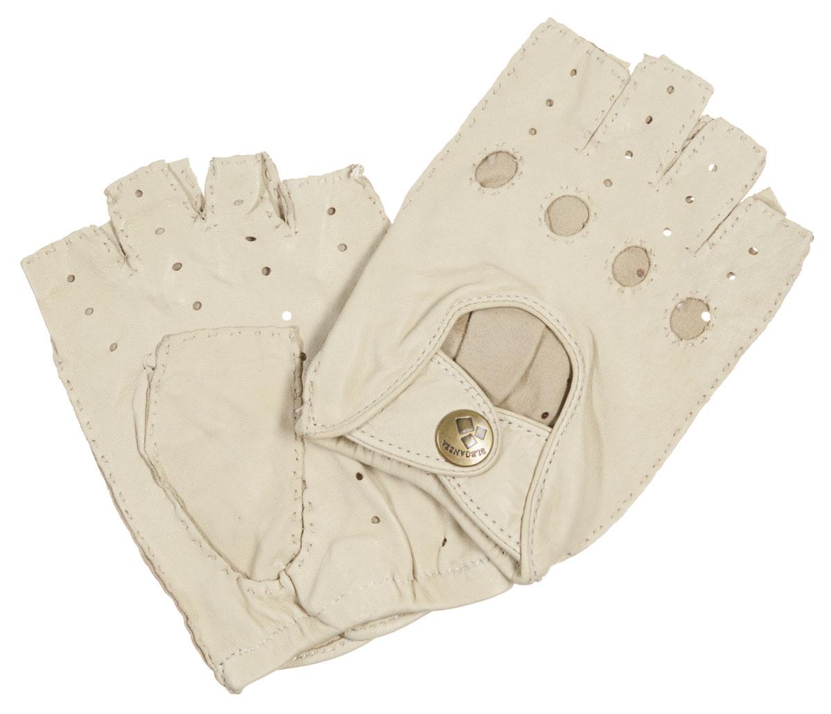 HS012WМитенки Eleganzza изготовлены из натуральной кожи с перфорацией. Швы - наружные ручные. На лицевой стороне - декоративный вырез, два ремня, закрывающиеся по центру на кнопку и вырезы под косточки пальцев. Первоначально митенки использовались для защиты от холода при выполнении работ, требующих подвижности пальцев. Но начиная с XVIII века митенки стали использоваться как модный женский аксессуар, дамы носили митенки и в помещениях, соответственно митенки выполняли больше эстетическую, а не практическую функцию. Такая мода продержалась и в XIX веке. Использовались как простые вязаные митенки, так и кружевные, причем они могли по длине доходить как до середины руки, так и до локтя. В России митенки использовались еще в XIX веке и считались женскими перчатками. В настоящий момент митенки используются как женщинами, так и мужчинами, но все-таки в большей степени считаются женским аксессуаром одежды!