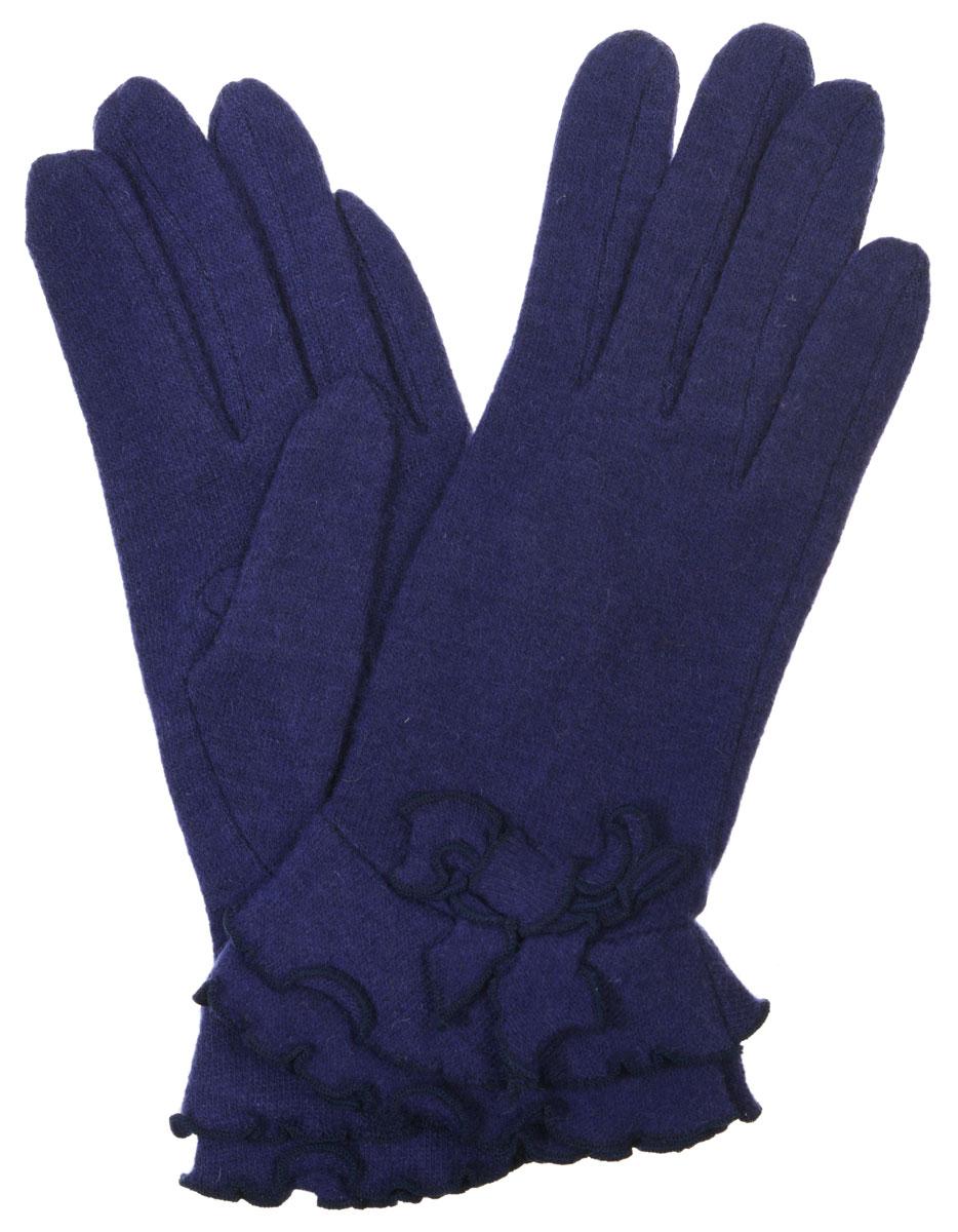 Перчатки женские. LB-PH-32LB-PH-32Элегантные женские перчатки Labbra станут великолепным дополнением вашего образа и защитят ваши руки от холода и ветра во время прогулок. Перчатки выполнены из плотного шерстяного трикотажа. Модель оформлена декоративным бантиком и строчкой оверлок по краям манжеты. Такие перчатки будут оригинальным завершающим штрихом в создании современного модного образа, они подчеркнут ваш изысканный вкус и станут незаменимым и практичным аксессуаром.