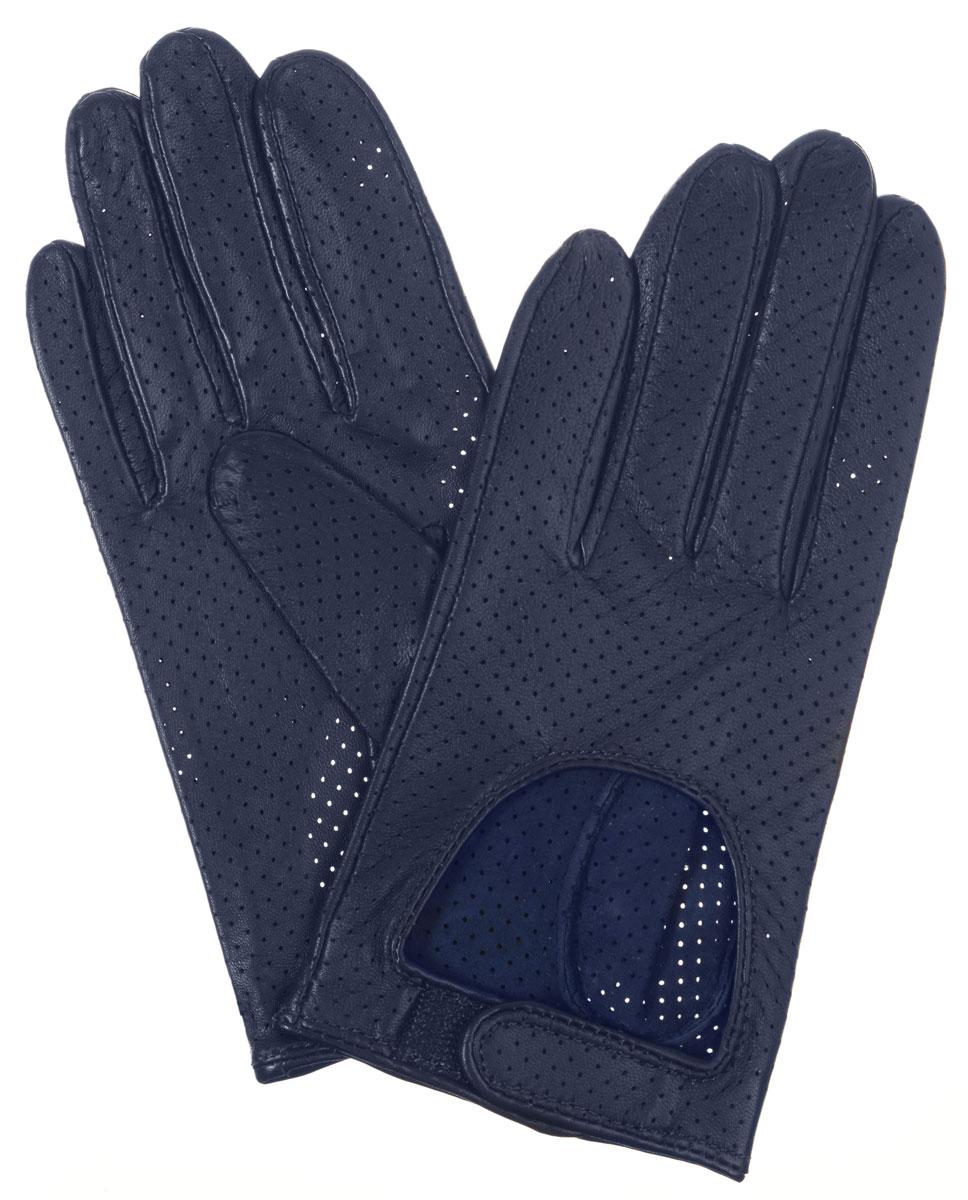IS854Стильные женские перчатки Eleganzza помогут правильно расставить модные акценты в вашем образе. Они выполнены из мягкой и приятной на ощупь кожи. Модель декорирована перфорацией. На лицевой стороне вырез и ремень застёжкой велькро. Такие перчатки станут идеальным аксессуаром, дополняющим ваш стиль и неповторимость.