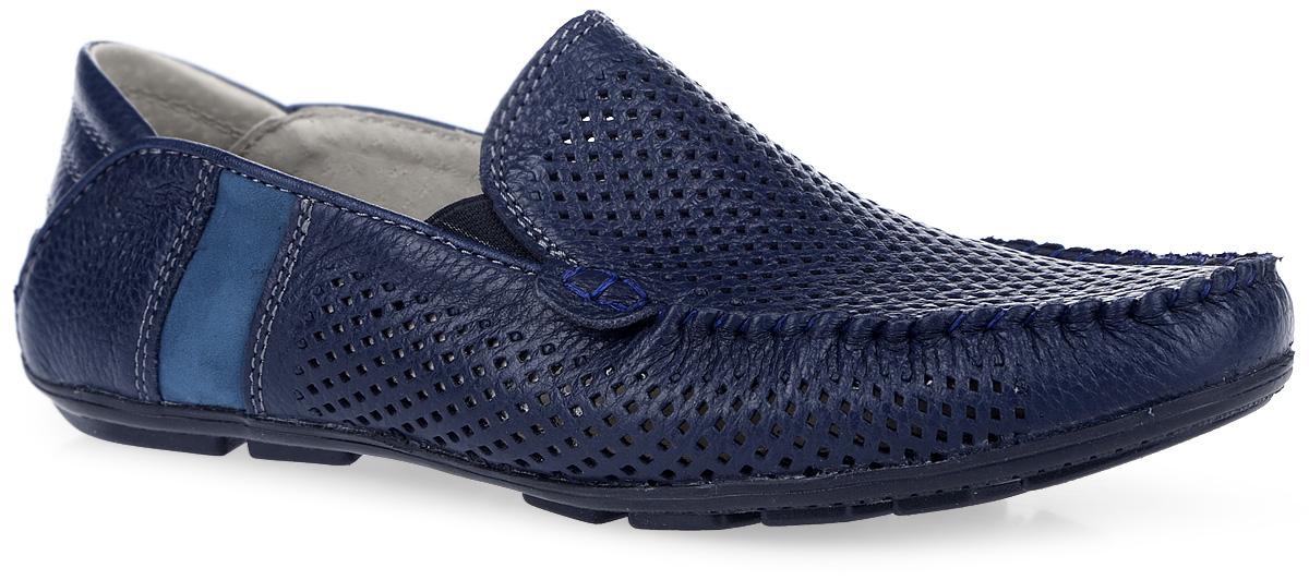 100688Стильные мокасины от Mursu покорят вашего юного модника с первого взгляда! Модель, выполненная из натуральной кожи, оформлена перфорацией и декоративным внешним швом на мысе. Резинки, расположенные по бокам, отвечают за комфортную посадку обуви на ноге. Перфорация обеспечивает естественную вентиляцию. Внутренняя поверхность из натуральной кожи и стелька из материала EVA с поверхностью из натуральной кожи гарантируют комфорт при движении. Стелька дополнена супинатором с перфорацией, который обеспечивает правильное положение ноги ребенка при ходьбе и предотвращает плоскостопие. Протектор на подошве гарантирует отличное сцепление с любой поверхностью. Стильные мокасины займут достойное место в гардеробе вашего мальчика.