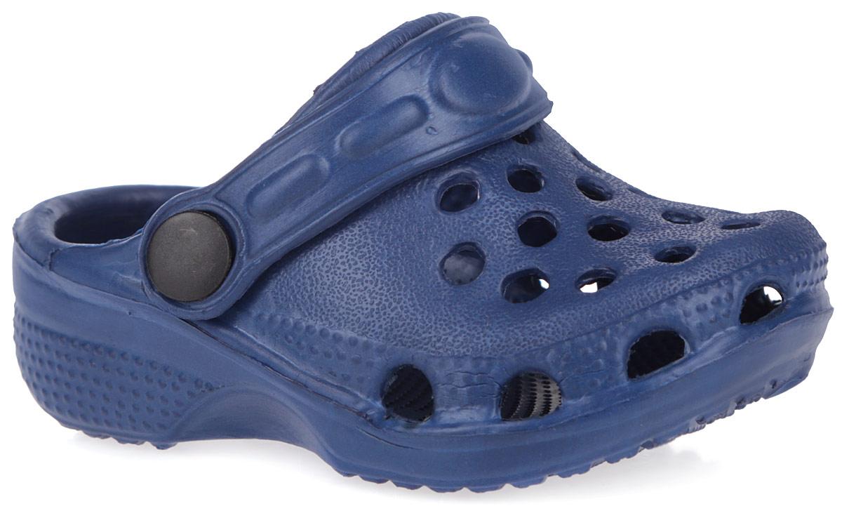 Сабо для мальчиков. 167218167218Чудесные и очень легкие сабо от PlayToday, выполненные полностью из ЭВА материала с отверстиями, обеспечивающими проникновение воздуха, - это превосходный вид обуви для вашего малыша. Пяточный ремешок можно убирать вперед или носить на пятке. Стелька дополнена рельефной поверхностью. Нескользящая подошва обеспечивает безопасность ребенка при ходьбе. Такие сабо подойдут для повседневного использования в бассейне, дома или на отдыхе!