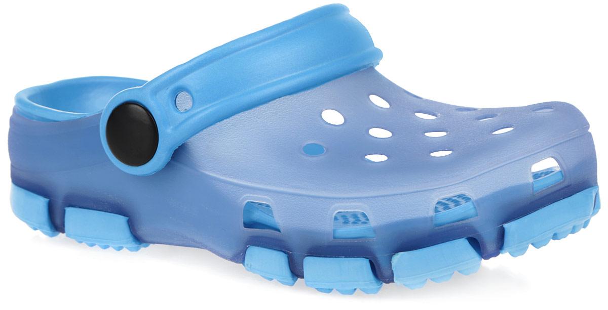 162228Чудесные и очень легкие сабо от PlayToday, выполненные из ЭВА материала и ПВХ с отверстиями, обеспечивающими проникновение воздуха, - это превосходный вид обуви для вашей малышки. Пяточный ремешок можно убирать вперед или носить на пятке. Стелька дополнена рельефной поверхностью. Нескользящая подошва обеспечивает безопасность ребенка при ходьбе. Такие сабо подойдут для повседневного использования в бассейне, дома или на отдыхе!