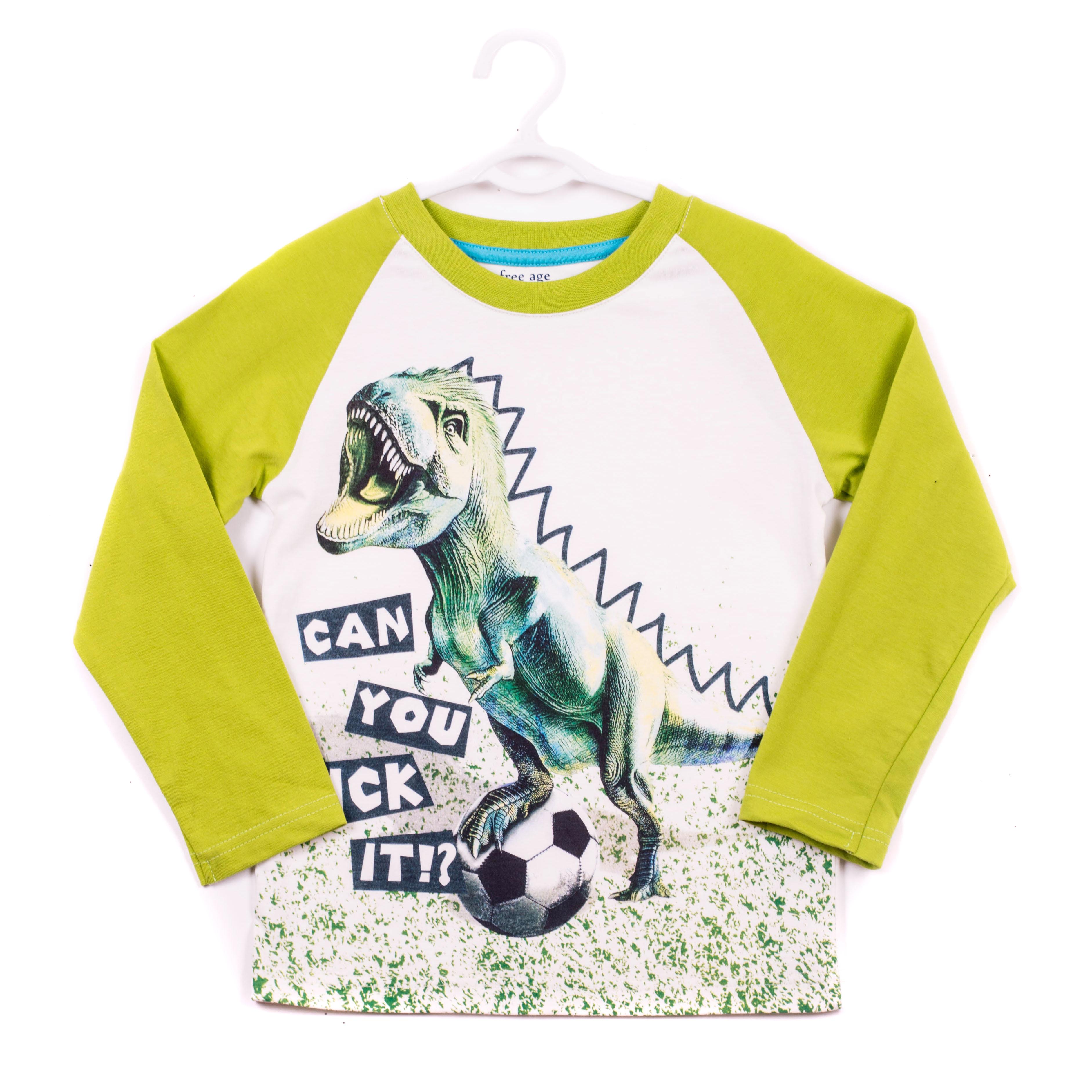 Фуфайка (футболка) длинный рукав для мальчика. ZB 03266-VGZB 03266-VGУдобная футболка с длинным рукавом для мальчика, с современным принтом.