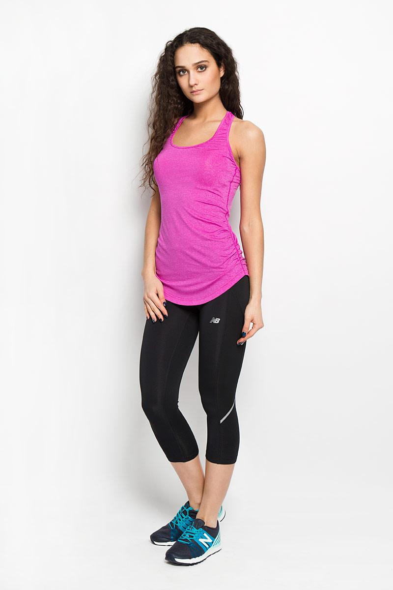 New Balance Майка для бега женская. WT61119/AZA