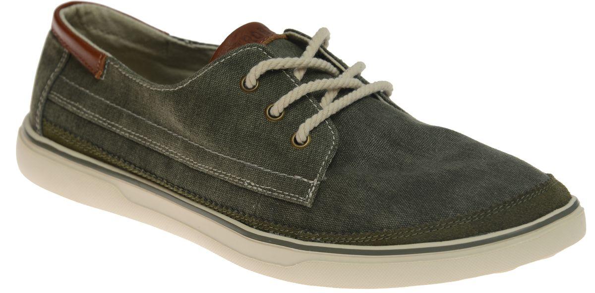 C2310-1Мужские кеды Strobbs выполнены в городском стиле и отлично подойдут для повседневной носки. Благодаря текстильному верху и удобной шнуровке эта модель дарит комфорт. Подошва обеспечивает легкость и естественную свободу движений. Мягкие и удобные, кеды превосходно подчеркнут ваш оригинальный и стильный облик.