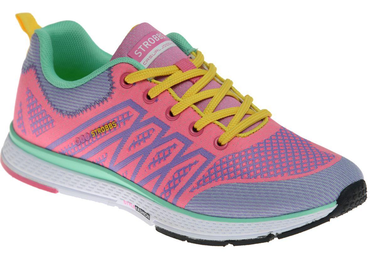 Кроссовки жен. F6407-11F6407-11Спортивный стиль для активного отдыха и повседневной носки. Подошва:ЭВА, низ - износостойкая резина
