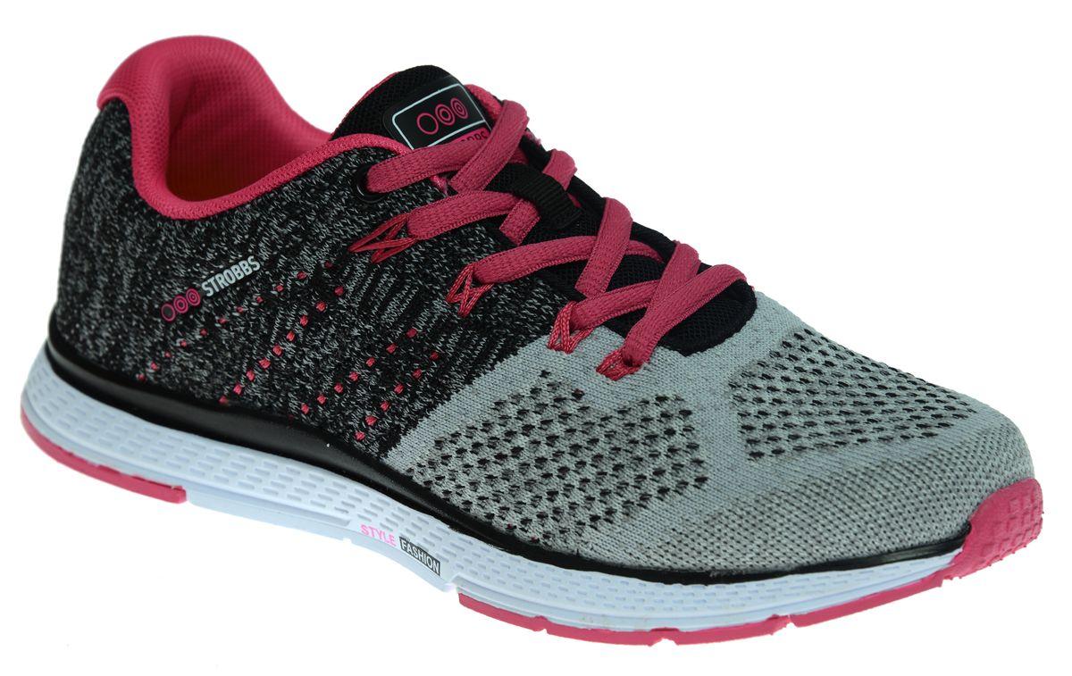 Кроссовки жен. F6420-4F6420-4Спортивный стиль для активного отдыха и повседневной носки. Подошва: ЭВА, низ - износостойкая, углеродистая резина .
