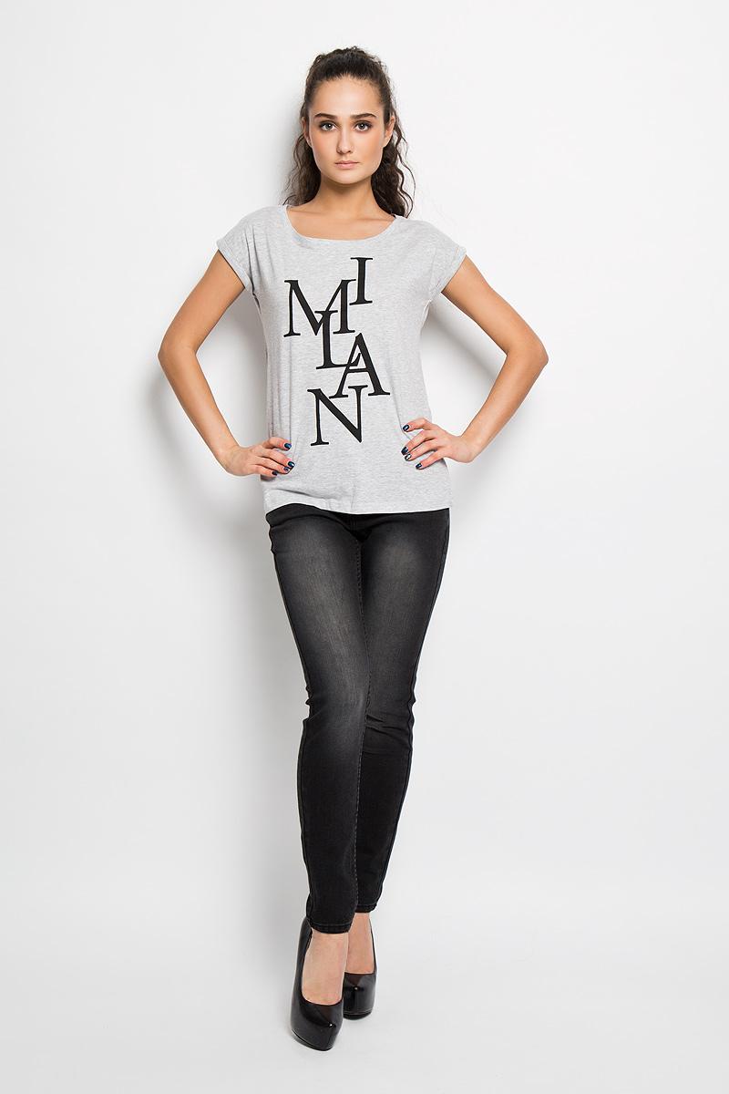 SPO2702SZСтильная женская футболка Top Secret, выполненная из хлопка с добавлением вискозы, подчеркнет ваш изысканный вкус. Модель свободного кроя c рукавами-кимоно и круглым вырезом горловины - идеальный вариант для создания образа в стиле Casual. Футболка оформлена надписью I Mian. Такая модель подарит вам комфорт в течение всего дня и послужит замечательным дополнением к вашему гардеробу.