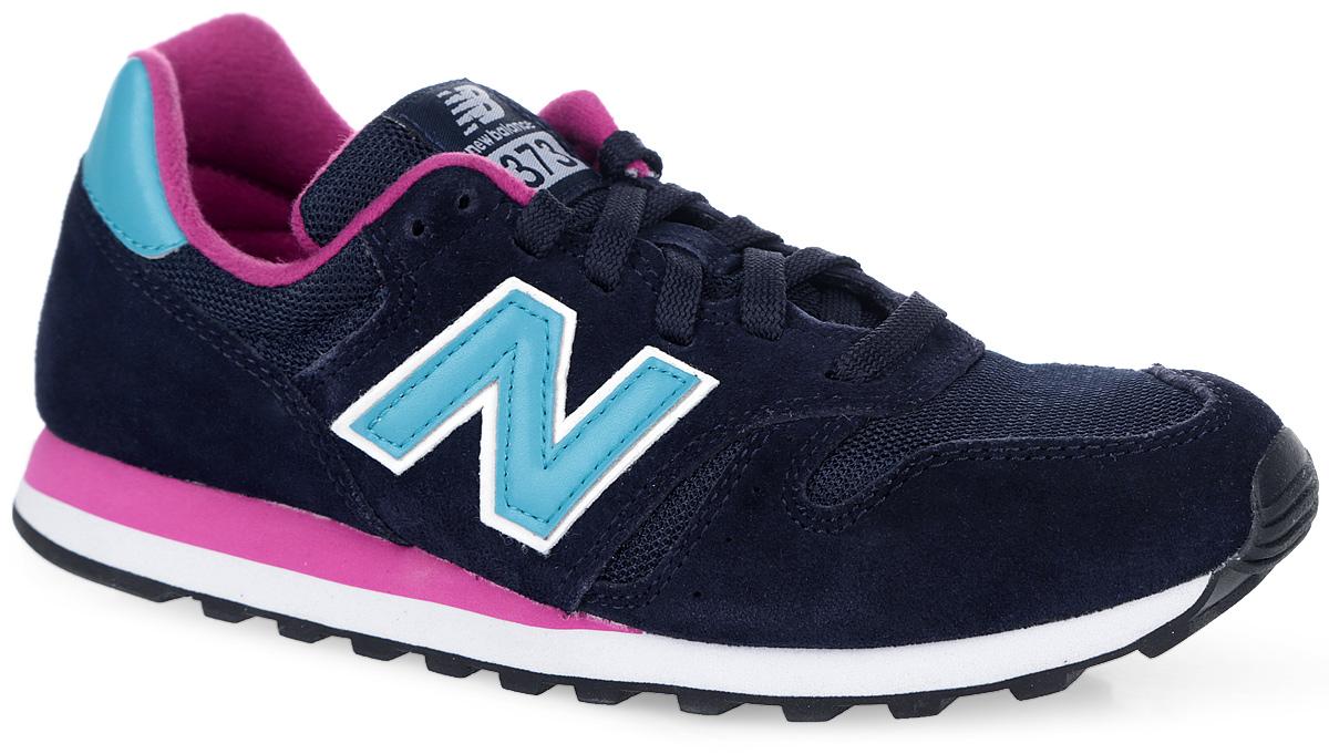 Кроссовки женские. WL373WL373NTPОригинальные женские кроссовки от New Balance придутся вам по душе. Верх модели выполнен из натуральной кожи со вставками из нейлона и полиэстера. По бокам обувь оформлена нашивками из искусственной кожи в виде фирменного логотипа бренда, на язычке - фирменной нашивкой, на заднике - принтом в виде названия бренда. Удобная шнуровка надежно фиксирует изделие на ноге. Подкладка, выполненная из текстиля, гарантирует уют и предотвращает от натирания. Стелька из материала EVA с текстильной поверхностью обеспечивает комфорт и отличную амортизацию. Подошва с прочной резиновой подметкой дополнена рельефным протектором для идеального сцепления с любыми поверхностями. В таких кроссовках вашим ногам будет комфортно и уютно.