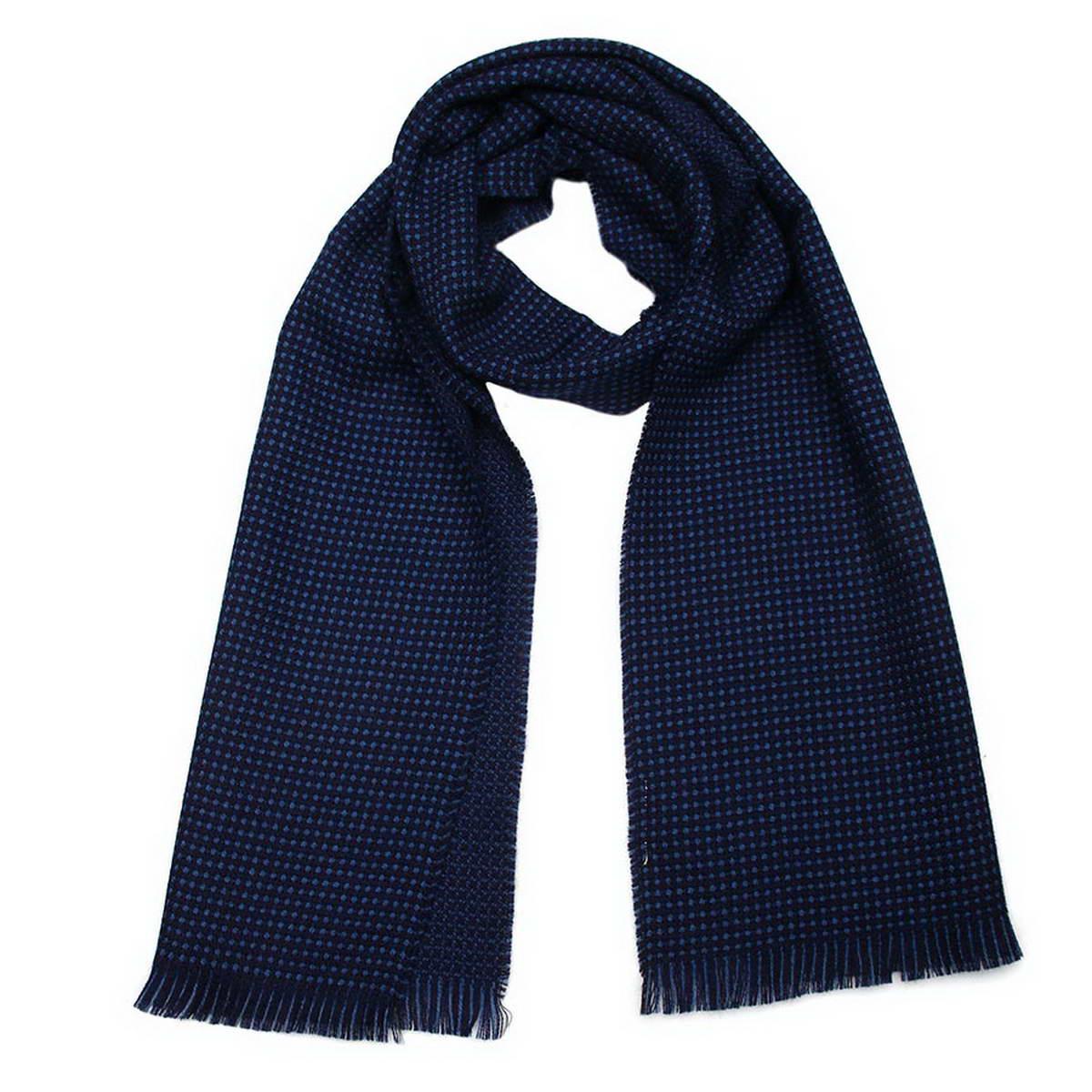Шарф мужской. 5001832_двухцветный5001832-1Стильный мужской шарф Venera будет прекрасно согревать в осеннюю прохладу и морозы. Шарф выполнен из натуральной шерсти и оформлен по краям бахромой. Классический шарф идеально дополнит мужской образ, а ненавязчивый дизайн сделает аксессуар универсальной вещью, которая удачно дополнит любую верхнюю одежду мужчины, подчеркнет неповторимый вкус и элегантность.