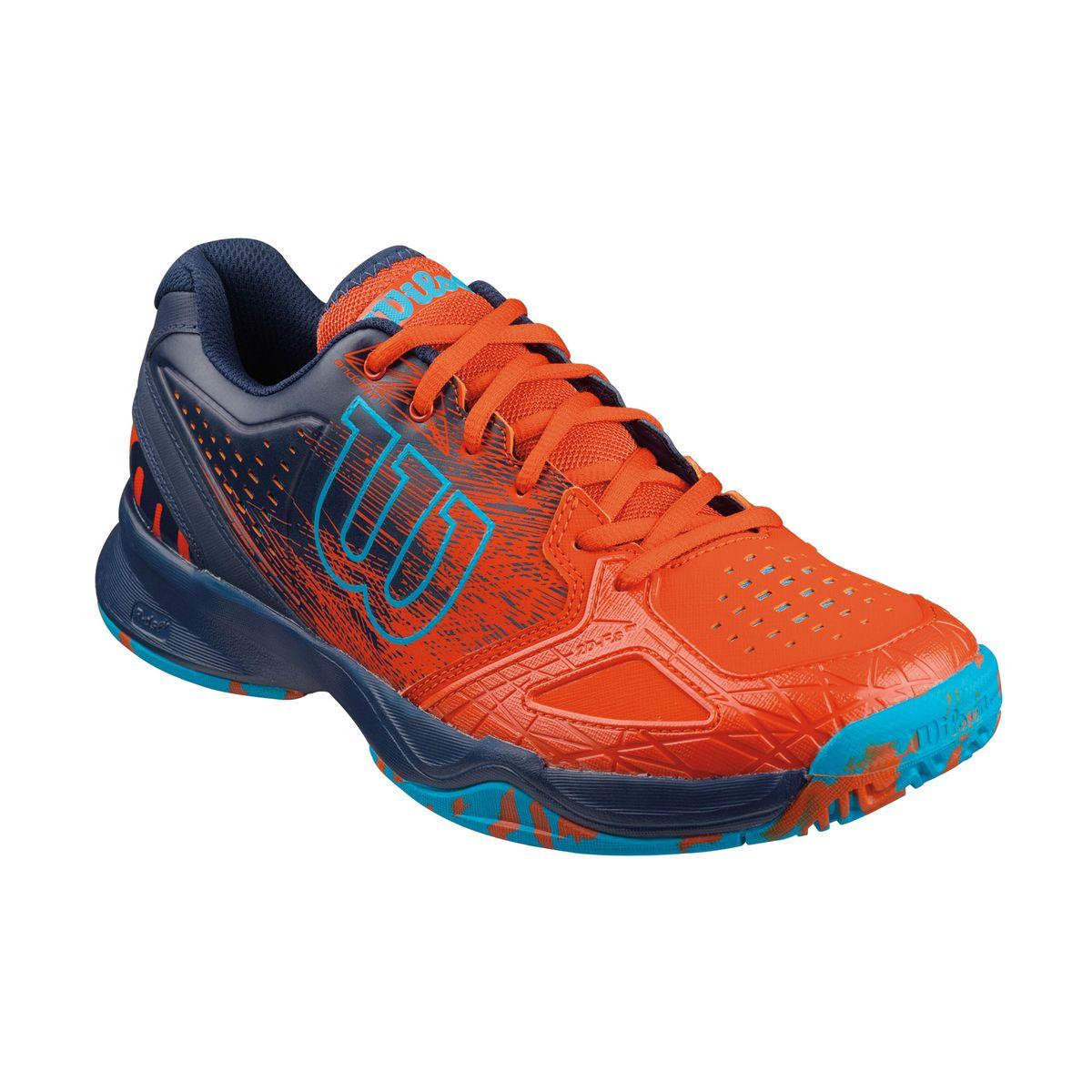 Кроссовки для тенниса муж. KAOS COMP. WRS320570WRS320570Продукт года. Серия KAOS - это стильный дизайн. Легкий вес. Обеспечение комфорта на самых быстрых скоростях в современном теннисе.