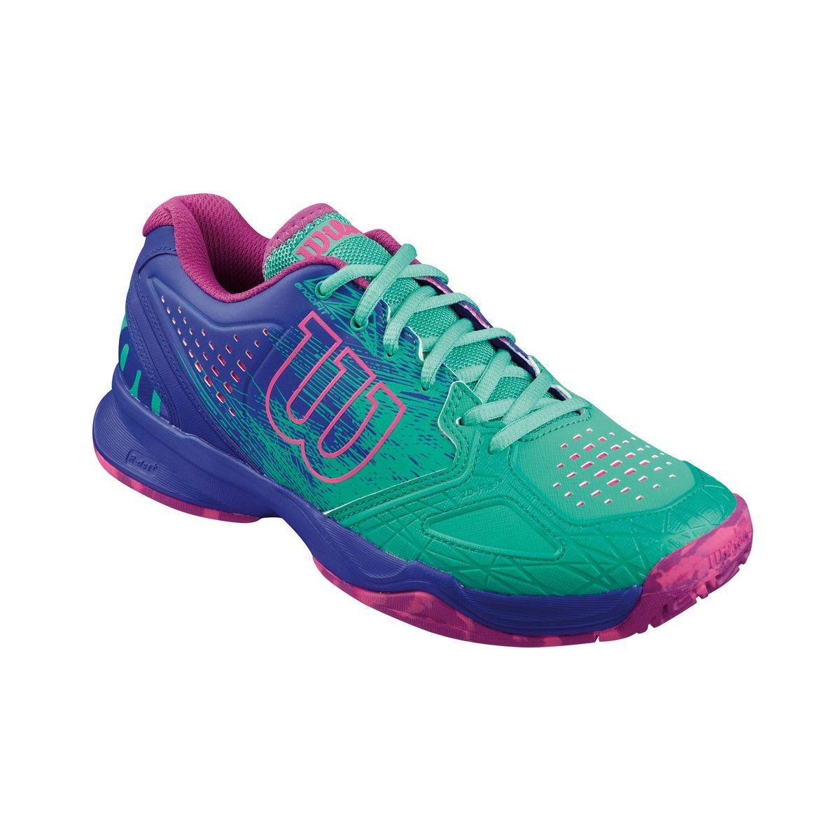 Кроссовки для тенниса жен. KAOS COMP. WRS321250WRS321250Продукт года. Серия KAOS - это стильный дизайн. Легкий вес. Обеспечение комфорта на самых быстрых скоростях в современном теннисе.