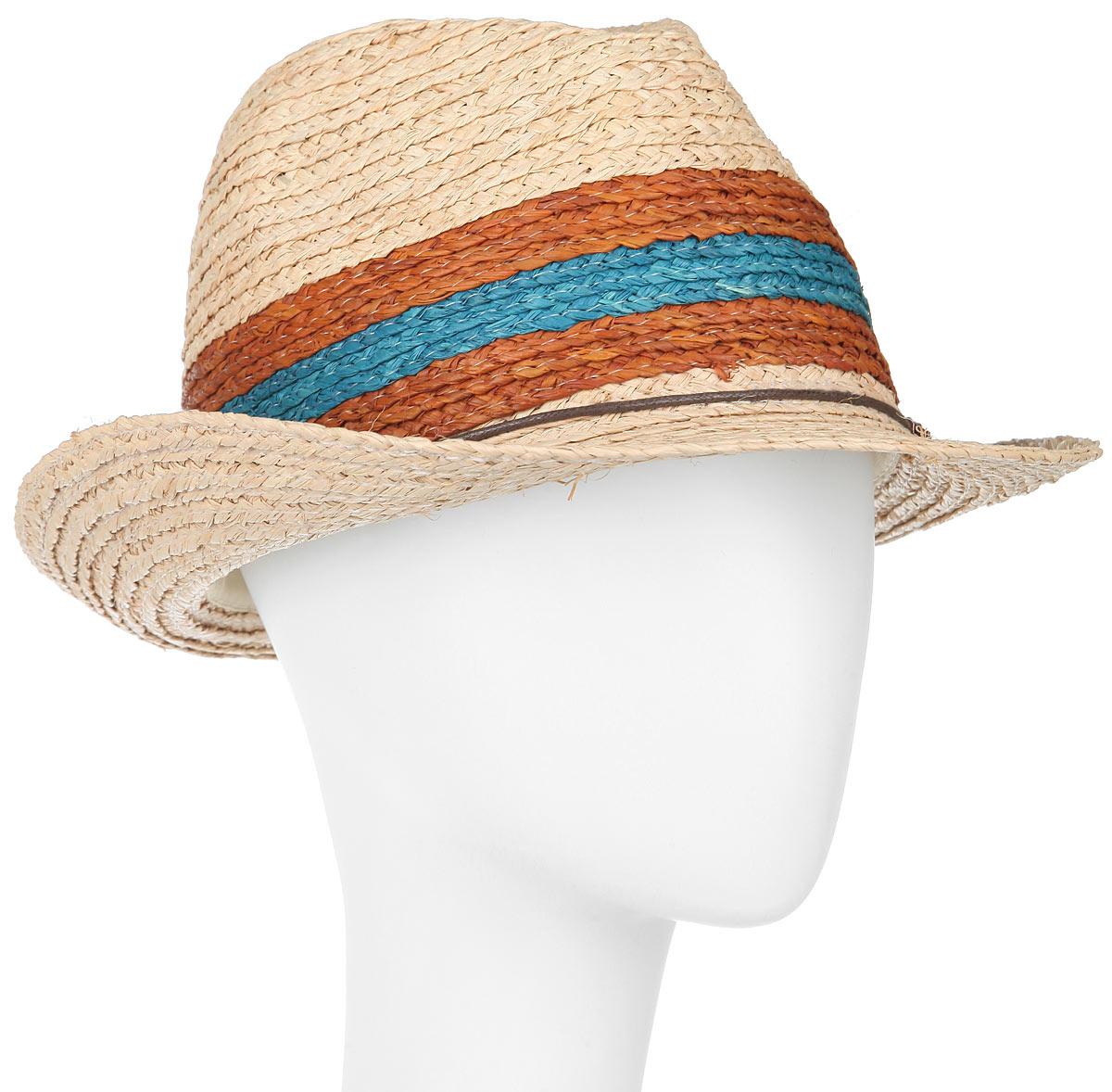 Шляпа1966020Классическая шляпа Canoe Bahamas непременно украсит любой наряд. Шляпа из натуральной соломы оформлена тонким переплетенным ремешком вокруг тульи. Благодаря своей форме, шляпа удобно садится по голове и подойдет к любому стилю. Плетение шляпы позволяет ей пропускать воздух, что обеспечивает необходимую вентиляцию. Такая шляпа подчеркнет вашу неповторимость и дополнит ваш повседневный образ.