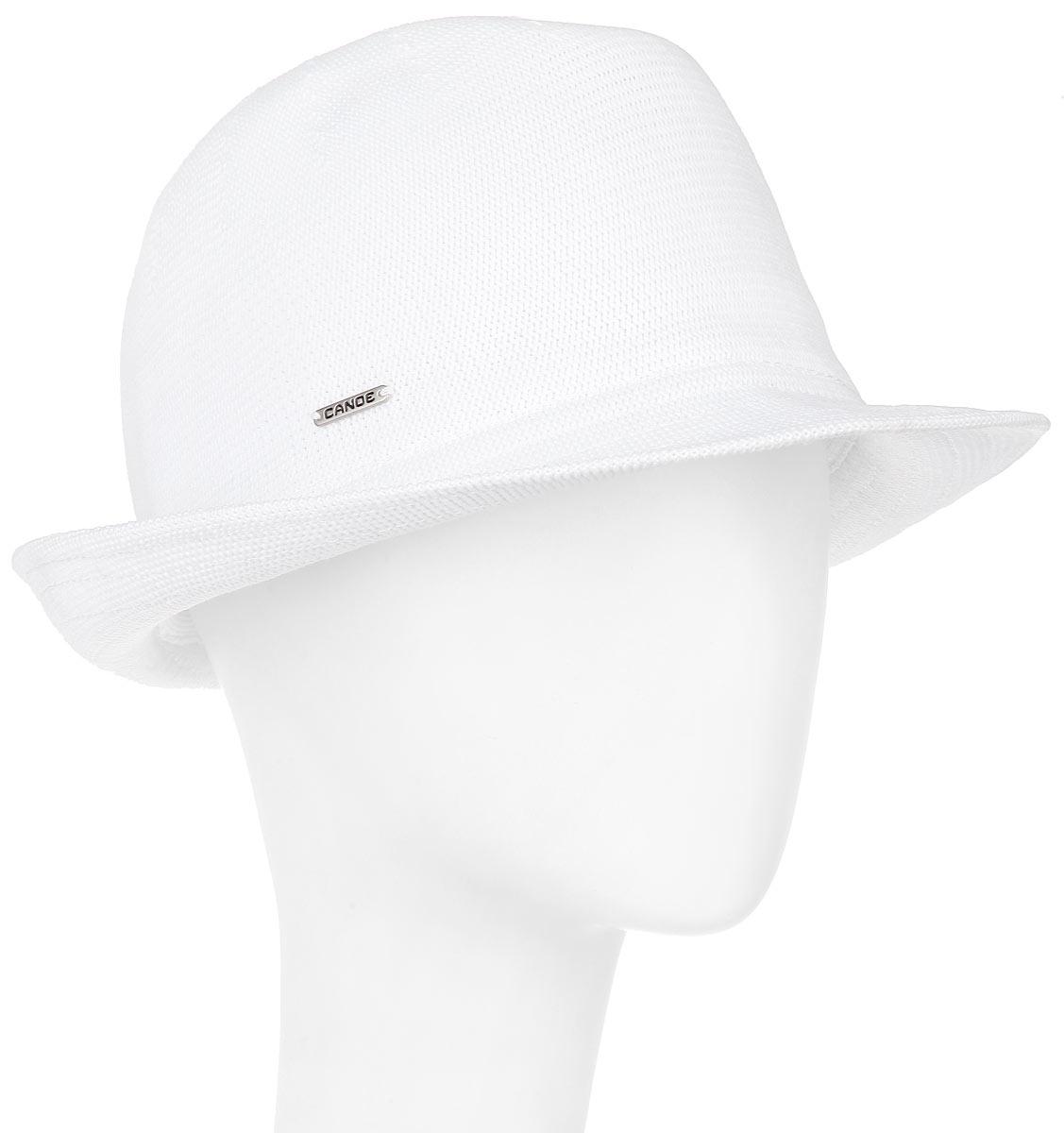 Шляпа Puerto-Rico1967287Модная шляпа Canoe Puerto-Rico, выполненная из полиэстера и акрила, украсит любой наряд. Шляпа оформлена небольшим металлическим логотипом фирмы. Благодаря своей форме, шляпа удобно садится по голове и подойдет к любому стилю. Она легко восстанавливает свою форму после сжатия. Такая шляпка подчеркнет вашу неповторимость и дополнит ваш повседневный образ.