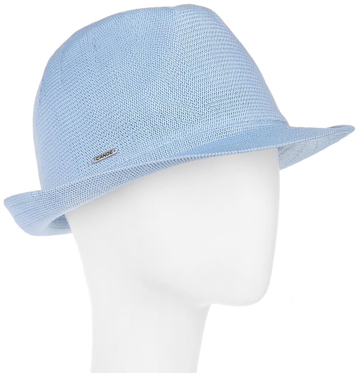 Шляпа1967287Модная шляпа Canoe Puerto-Rico, выполненная из полиэстера и акрила, украсит любой наряд. Шляпа оформлена небольшим металлическим логотипом фирмы. Благодаря своей форме, шляпа удобно садится по голове и подойдет к любому стилю. Она легко восстанавливает свою форму после сжатия. Такая шляпка подчеркнет вашу неповторимость и дополнит ваш повседневный образ.