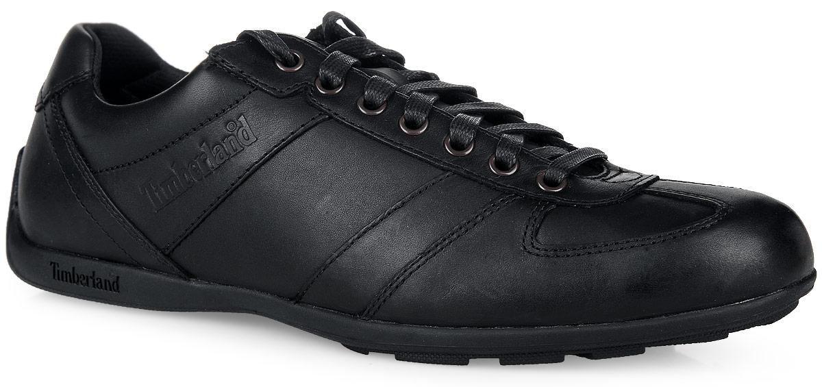 TBL9715AMСтильные полуботинки Leather Oxford от Timberland не оставят вас равнодушным! Модель, выполненная из натуральной кожи, оформлена сбоку и на язычке - фирменными тиснениями. Удобная шнуровка прочно зафиксирует модель на ноге. Стелька Anti-Fatigue из материала EVA с текстильной поверхностью обеспечивает комфорт при движении и отличную амортизацию. Рифление на подошве гарантирует отличное сцепление с любой поверхностью. Стильные полуботинки прекрасно дополнят ваш модный образ и подчеркнут отменный вкус.