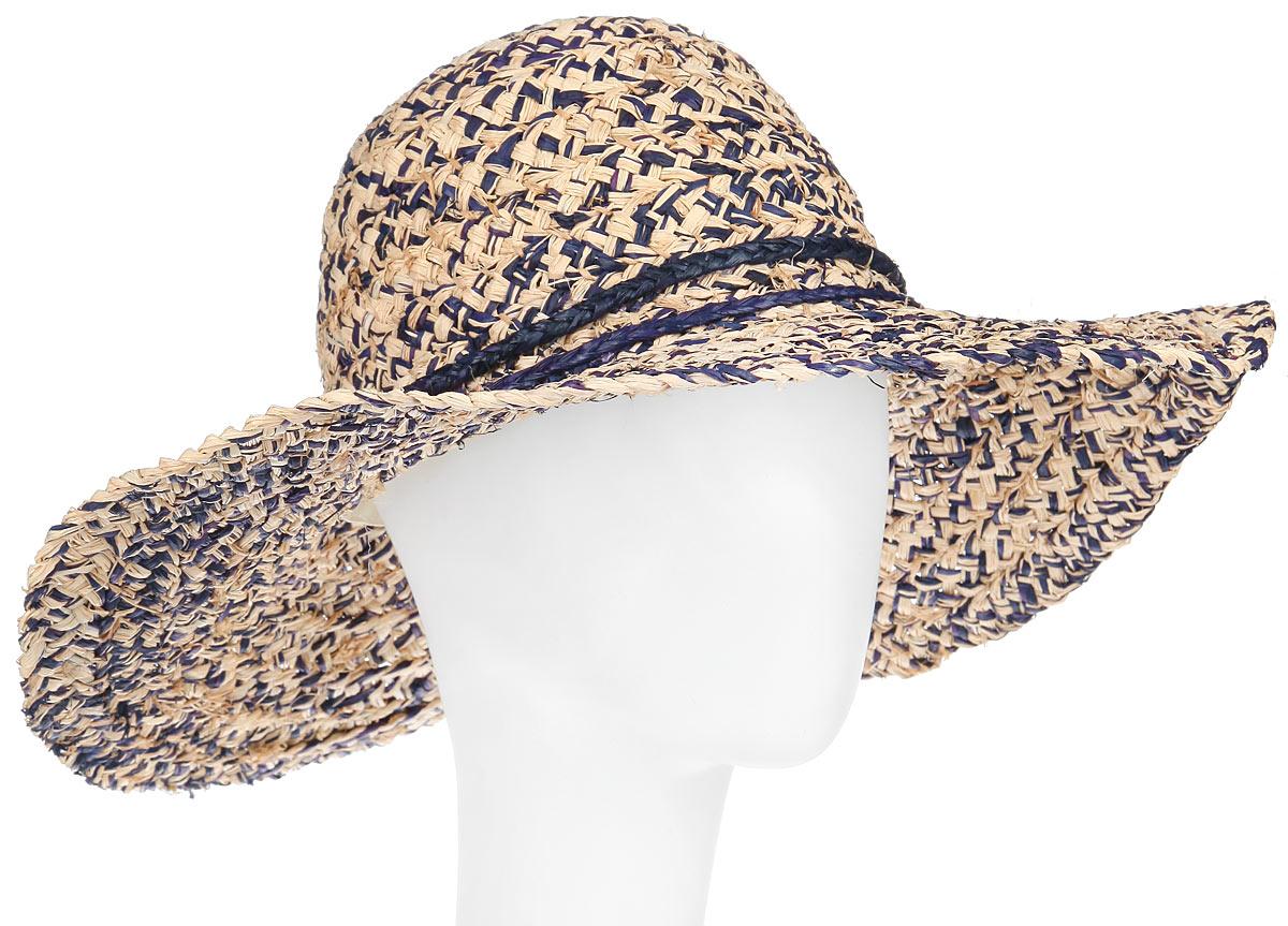 Шляпа женская Argentina. 19660141966014Летняя женская шляпа Canoe Argentina, выполненная из натуральной соломы, станет незаменимым аксессуаром для пляжа и отдыха на природе. Широкие поля шляпы обеспечат надежную защиту от солнечных лучей. Плетение шляпы обеспечивает необходимую вентиляцию и комфорт даже в самый знойный день. Шляпа легко восстанавливает свою форму после сжатия. Стильная шляпа с элегантными волнистыми полями подчеркнет вашу неповторимость и дополнит ваш повседневный образ.