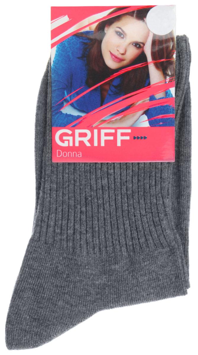 НоскиD4O1Женские носки Griff Резинка изготовлены из высококачественного сырья. Носки очень мягкие на ощупь, а широкая резинка плотно облегает ногу, не сдавливая ее, благодаря чему вам будет комфортно и удобно. Усиленная пятка и мысок обеспечивают надежность и долговечность.