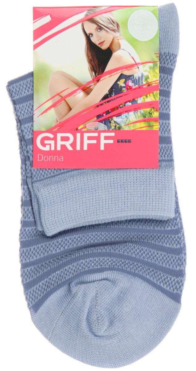 Носки женские Полосы. D4O2D4O2Женские носки Griff Полосы изготовлены из высококачественного сырья. Носки очень мягкие на ощупь, а широкая резинка плотно облегает ногу, не сдавливая ее, благодаря чему вам будет комфортно и удобно. Усиленная пятка и мысок обеспечивают надежность и долговечность. Носки оформлены рисунком в полоску.