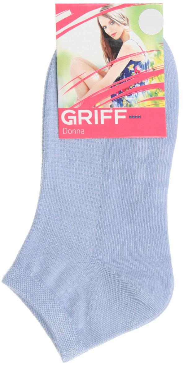Носки женские Бамбук. D4U5D4U5Женские укороченные носки Griff изготовлены из высококачественного сырья. Однотонные носки очень мягкие на ощупь, а широкая резинка плотно облегает ногу, не сдавливая ее, благодаря чему вам будет комфортно и удобно. Усиленная пятка и мысок обеспечивают надежность и долговечность.