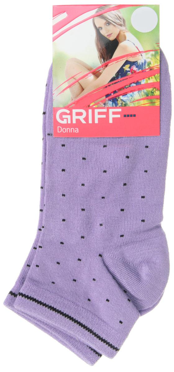 D4U8Женские укороченные носки Griff Точки изготовлены из высококачественного сырья. Носки очень мягкие на ощупь, а широкая резинка плотно облегает ногу, не сдавливая ее, благодаря чему вам будет комфортно и удобно. Усиленная пятка и мысок обеспечивают надежность и долговечность. Носки оформлены оригинальным принтом.