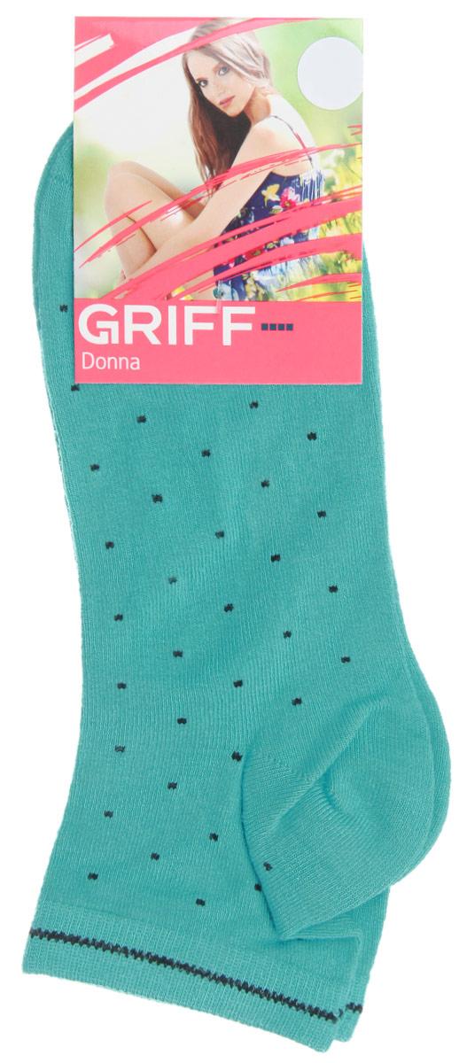 Носки женские Точки. D4U8D4U8Женские укороченные носки Griff Точки изготовлены из высококачественного сырья. Носки очень мягкие на ощупь, а широкая резинка плотно облегает ногу, не сдавливая ее, благодаря чему вам будет комфортно и удобно. Усиленная пятка и мысок обеспечивают надежность и долговечность. Носки оформлены оригинальным принтом.