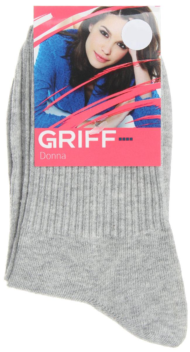 D4O1Женские носки Griff Резинка изготовлены из высококачественного сырья. Носки очень мягкие на ощупь, а широкая резинка плотно облегает ногу, не сдавливая ее, благодаря чему вам будет комфортно и удобно. Усиленная пятка и мысок обеспечивают надежность и долговечность.