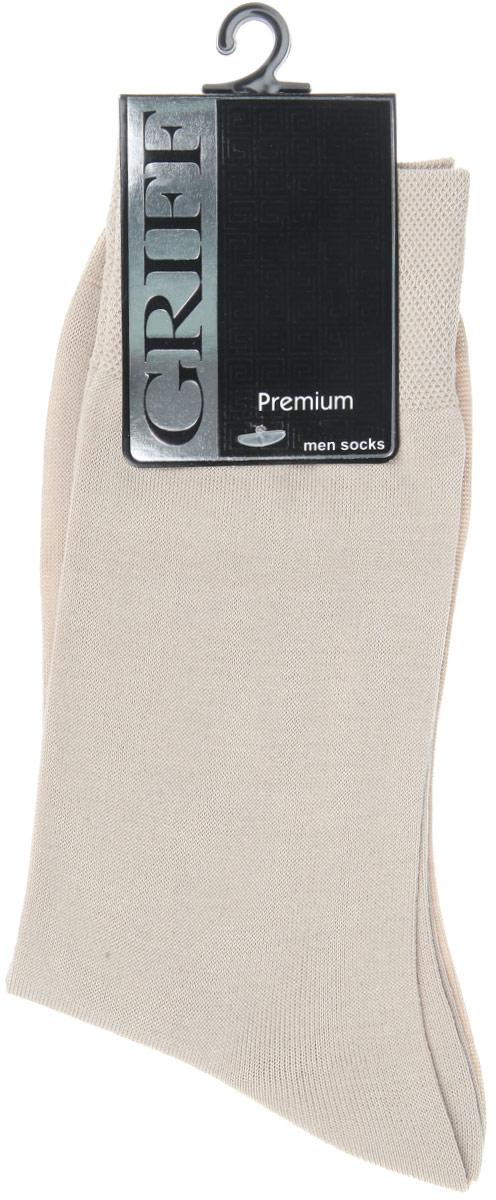 НоскиE1Мужские носки Griff Premium изготовлены из высококачественного сырья с добавлением полиамидных волокон, которые обеспечивают великолепную посадку. Носки отличаются элегантным внешним видом. Удобная широкая резинка идеально облегает ногу и не пережимает сосуды, усиленные пятка и мысок повышают износоустойчивость носка, а удлиненный паголенок придает более эстетичный вид.