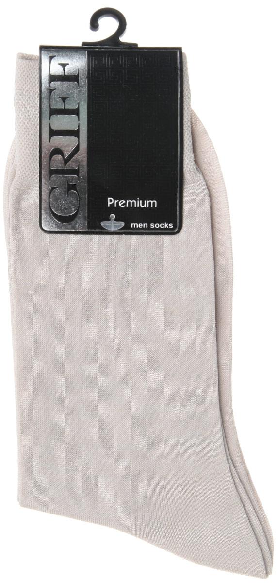 E1Мужские носки Griff Premium изготовлены из высококачественного сырья с добавлением полиамидных волокон, которые обеспечивают великолепную посадку. Носки отличаются элегантным внешним видом. Удобная широкая резинка идеально облегает ногу и не пережимает сосуды, усиленные пятка и мысок повышают износоустойчивость носка, а удлиненный паголенок придает более эстетичный вид.