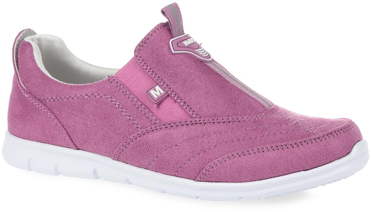Кроссовки05-326-017Стильные кроссовки от MakFly придутся по душе вашей девочке. Модель выполнена из текстиля. В области подъема обувь дополнена текстильной нашивкой со светоотражающим элементом для лучшей видимости в темное время суток и двумя нашивками из ПВХ с символикой бренда. Ярлычок предназначен для более удобного надевания обуви. Задник оформлен фирменной вышивкой. Подкладка, изготовленная из текстиля, гарантирует уют и предотвращает натирание. Стелька из ЭВА с верхним текстильным покрытием обеспечит уют. Отсутствие шнуровки компенсировано боковыми эластичными вставками, которые надежно фиксируют кроссовки на ноге. Облегченная подошва из ЭВА оснащена рифлением для лучшей сцепки с поверхностями. Такие кроссовки займут достойное место среди коллекции обуви вашей дочурки.