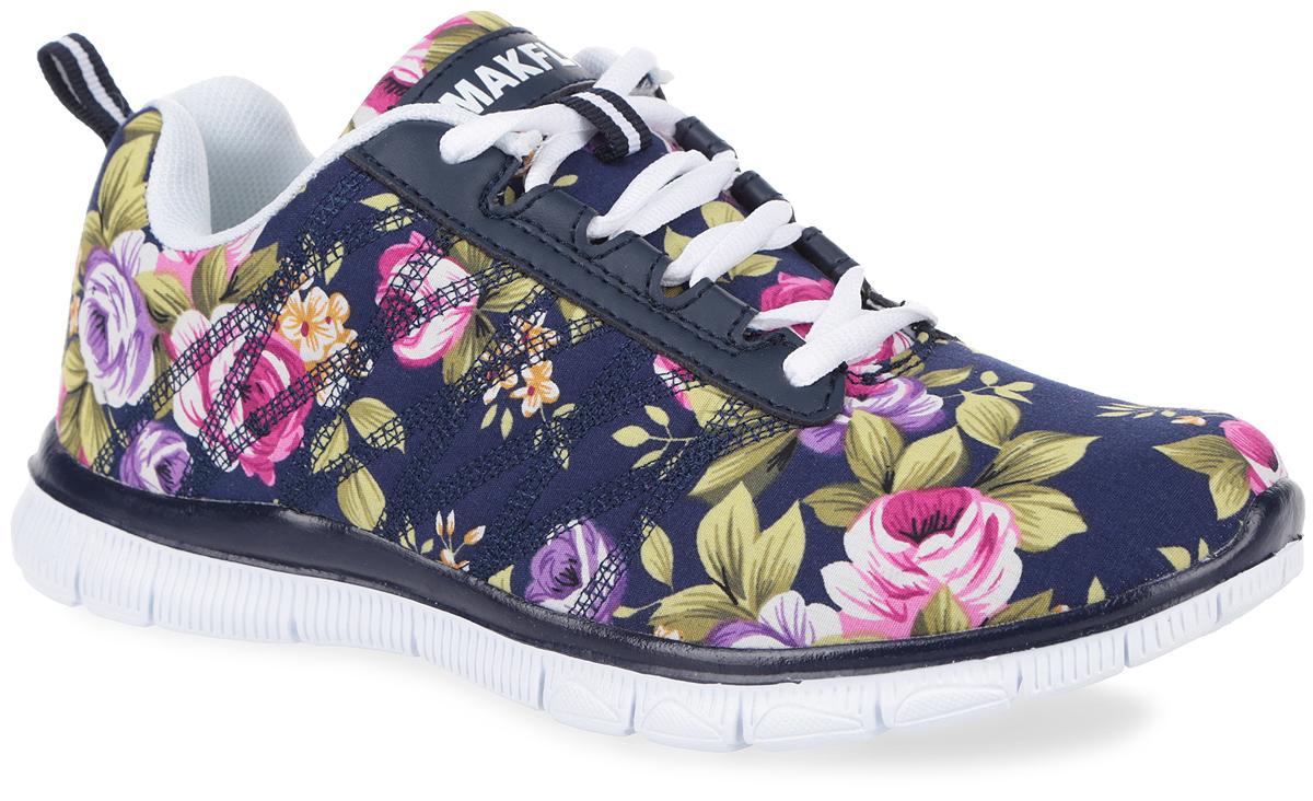 05-326-020Чудесные кроссовки от MakFly покорят вашу дочурку с первого взгляда. Модель выполнена из текстиля, оформленного яркими цветочными изображениями, и дополнена вставками из искусственной кожи. Ярлычок на заднике предназначен для более удобного надевания обуви. По бокам изделие декорировано оригинальной прострочкой, язычок - фирменной нашивкой из искусственной кожи. Подкладка, изготовленная из текстиля, гарантирует уют и предотвращает натирание. Стелька из ЭВА с верхним текстильным покрытием обеспечит уют. Классическая шнуровка надежно фиксирует кроссовки на ноге. Облегченная подошва из ЭВА оснащена рифлением для лучшей сцепки с поверхностями. Такие кроссовки займут достойное место среди коллекции обуви вашей девочки.