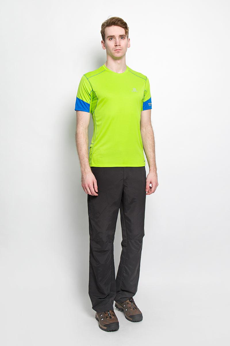 Salomon Футболка для бега мужская Agile SS Tee M. L37951900