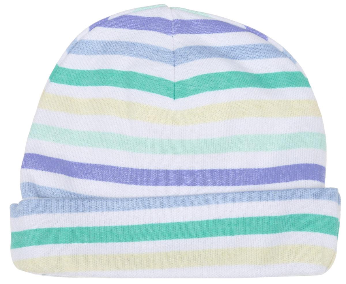 Шапочка6311_ВЛ15_полоскиКомфортная шапочка Трон-плюс станет отличным дополнением к детскому гардеробу. Изделие изготовлено из двойного трикотажного полотна, мягкое и приятное на ощупь, позволяет коже дышать. Модель с отворотом оформлена принтом в полоску по всей поверхности. Шапочка необходима любому младенцу, она защищает еще не заросший родничок, щадит чувствительный слух малыша, прикрывая ушки, а также предохраняет от теплопотерь. В такой шапочке ваш ребенок будет чувствовать себя уютно и комфортно! Уважаемые клиенты! Размер, доступный для заказа, является обхватом головы.