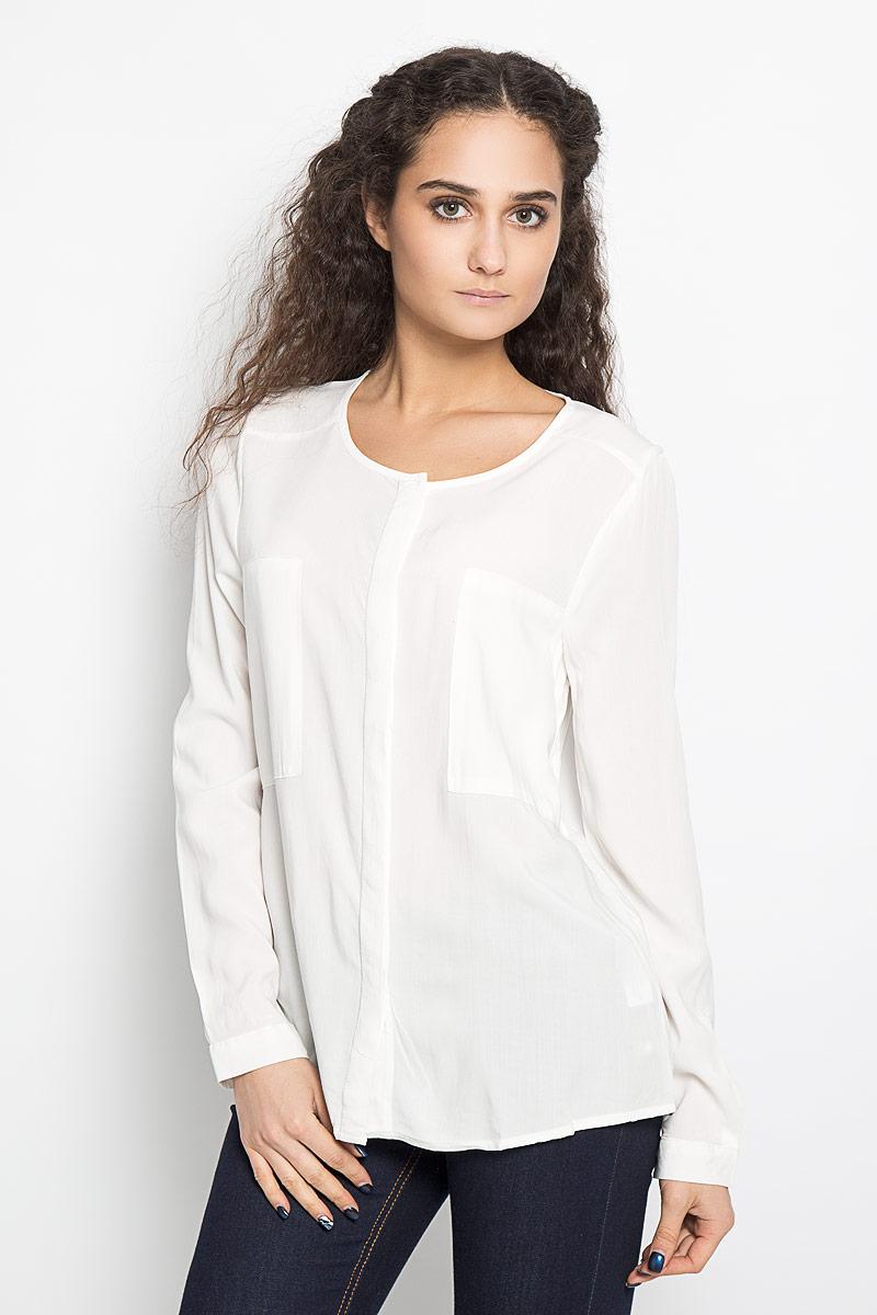 Блузка С Вырезом