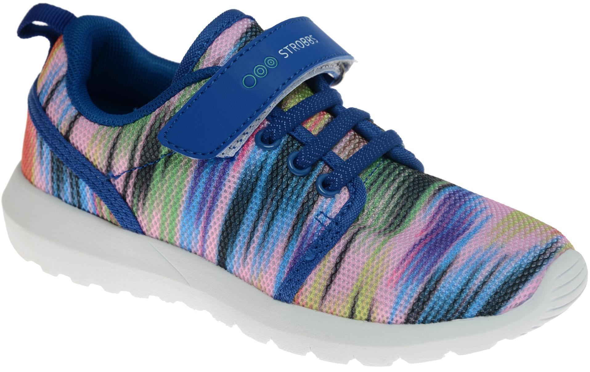 КроссовкиN1543-22Стильные кроссовки для девочки Strobbs отлично подойдут для активного отдыха и повседневной носки. Верх модели выполнен из дышащего текстиля. Удобная шнуровка и хлястик на липучке надежно зафиксируют модель на стопе. Особая форма подошвы обеспечит удобство при ходьбе и отличную амортизацию.