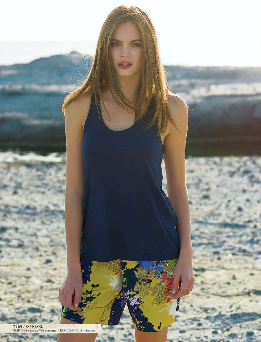 Комплект женский: шорты, майка. 717469