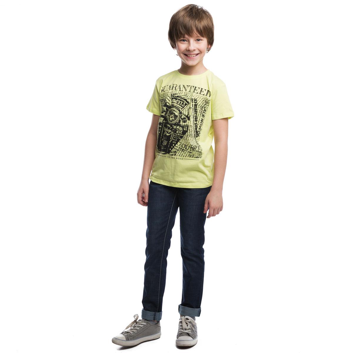 263002Стильные джинсовые брюки темно-синего цвета. Пояс на резинке, дополнительно регулируется шнурком. Спереди и сзади функциональные карманы.