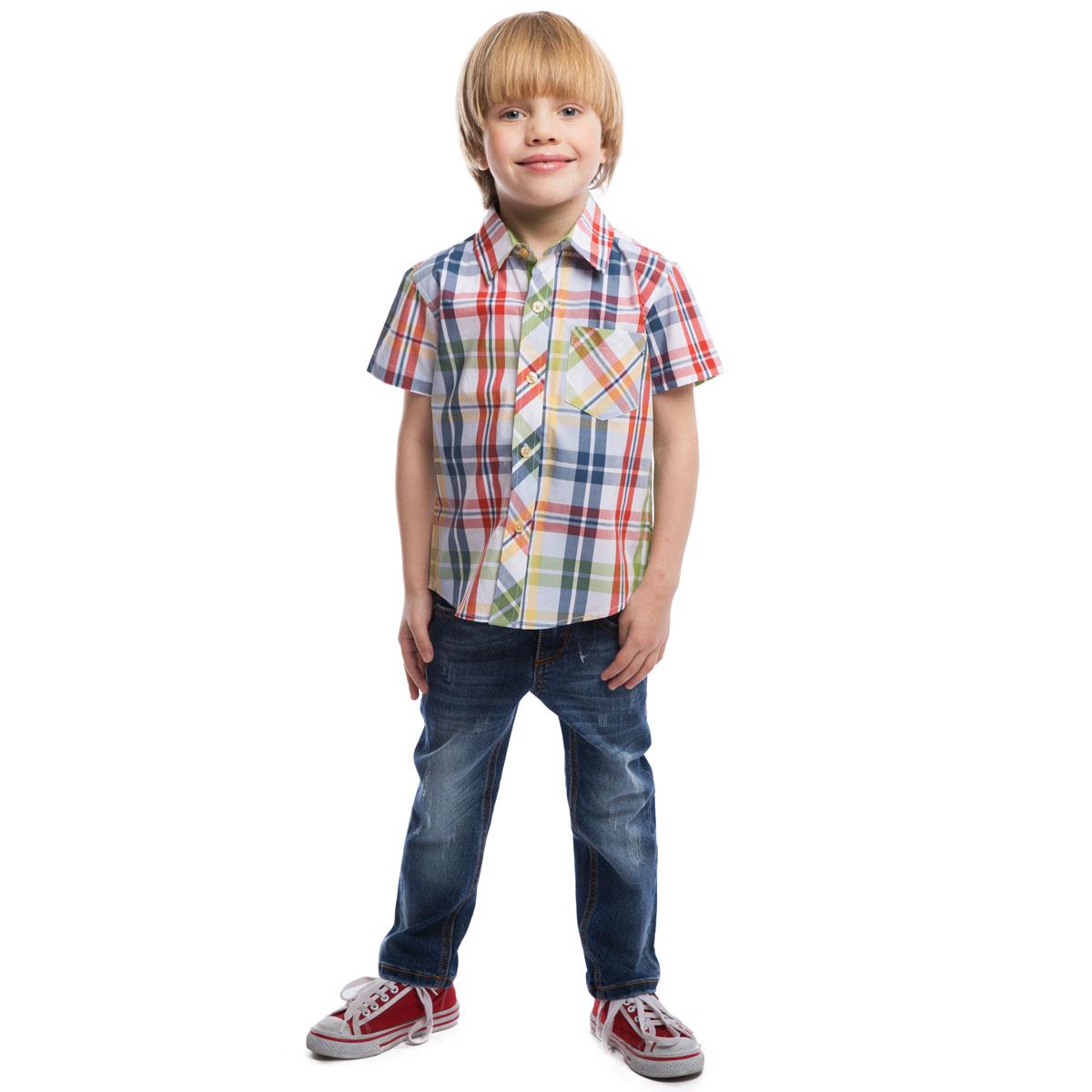 PlayToday Рубашка для мальчика. 261002