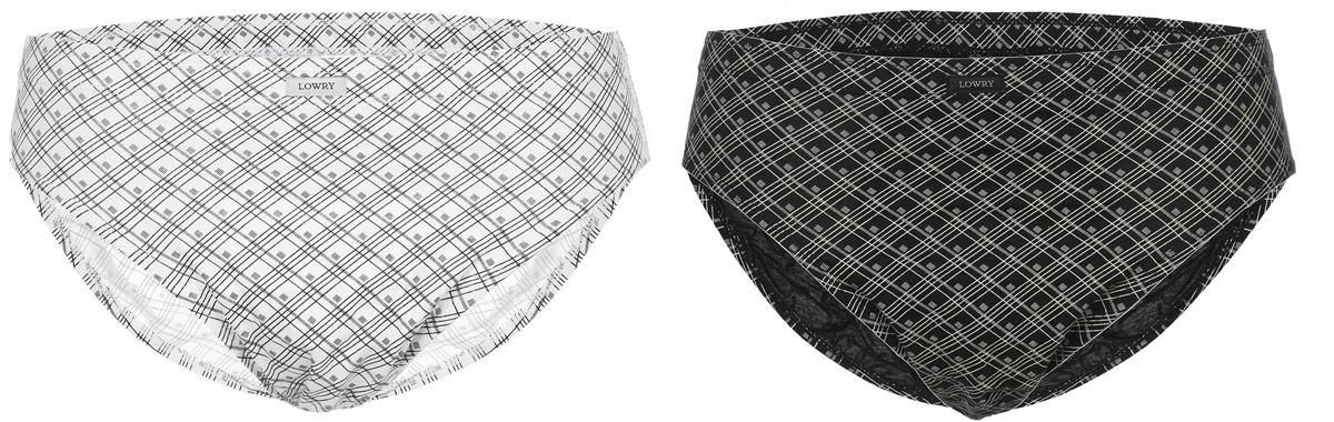 Трусы мужские, 2 шт. MB-375MB-375Трусы-слипы мужские Lowry изготовлены из натурального хлопка и оформлены принтом в клетку. Трусы с эластичными вырезами вокруг бедер. Удобная посадка и широкая резинка на талии обеспечат наибольший комфорт. Резинка на поясе оформлена нашивкой с названием бренда. Модель создана для тех, кто предпочитает комфорт, практичность и современный дизайн. В комплекте: 2 шт.