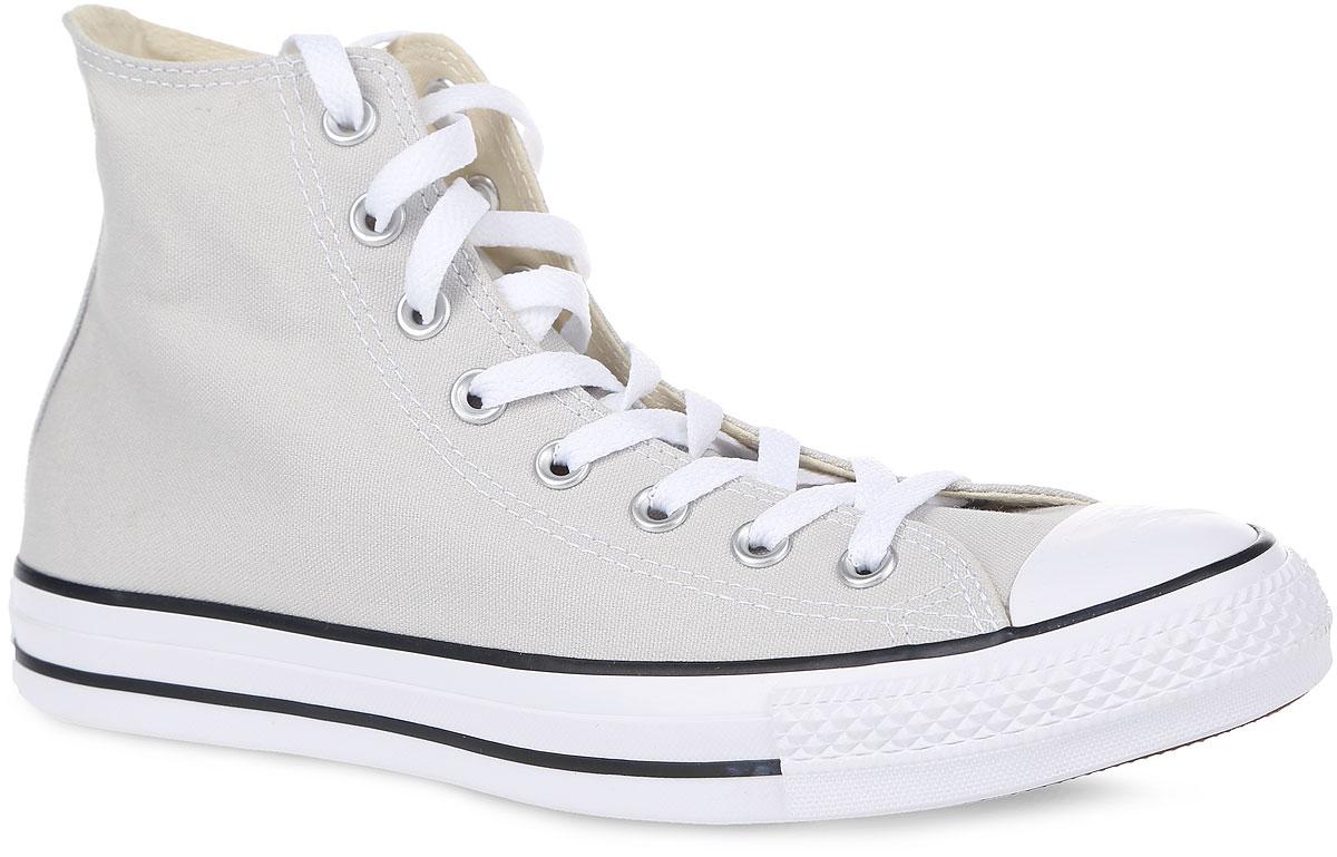 Кеды Chuck Taylor All Star Hi. 149509/151170149509Высокие кеды Chuck Taylor All Star Hi от Converse займут достойное место среди вашей обуви. Модель выполнена из плотного текстиля и оформлена на одной из боковых сторон металлическими люверсами и фирменной термоаппликацией, на подошве - прорезиненной накладкой и контрастными полосками. Мыс изделия дополнен классической для кед прорезиненной вставкой. Классическая шнуровка обеспечивает надежную фиксацию обуви на ноге. Стелька из материала EVA с текстильной поверхностью комфортна при движении. Гибкая резиновая подошва с рифлением гарантирует идеальное сцепление с любыми поверхностями. В таких кедах вашим ногам будет комфортно и уютно.