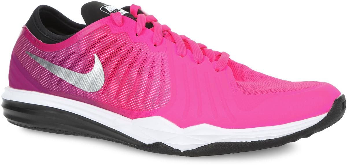 Кроссовки819022-600Женские кроссовки W Dual Fusion TR 4 Print от Nike помогут увеличить интенсивность тренировок. Внешний литой слой обхватывает переднюю часть стопы по диагонали, а стелька из мягкого пеноматериала гарантирует оптимальную амортизацию во время упражнений. Штампованная подкладка с накладкой из сетки улучшает воздухопроницаемость. Подошва с технологией Dual Fusion - двухслойный филон для поглощения ударов и амортизации. Мягкий бортик удобно поддерживает область пятки.